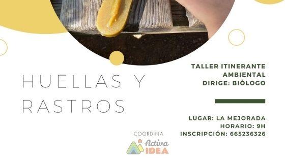 TALLER TRAS LAS HUELLAS Y RASTROS